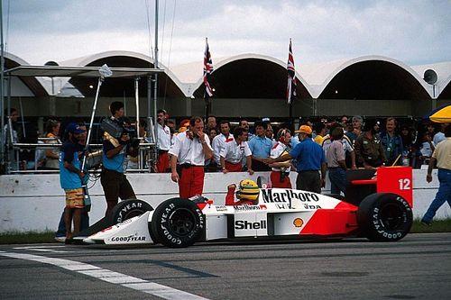 El difícil camino de Ayrton Senna a su primer título de F1