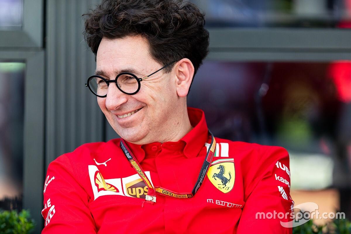 """Binotto: """"Ferrari, orgoglio italiano, pronta a tornare in pista"""""""