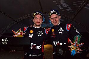 WRC, Jarveoja da navigatore di Tanak a muratore. E Peppa Pig...