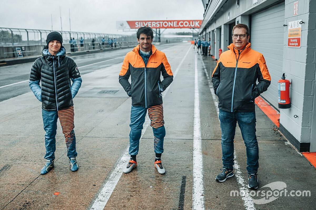 Duet McLarena treningowo w F3