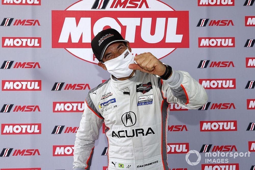 Daytona IMSA: Castroneves' Acura beats Mazdas to pole
