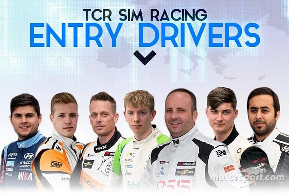 TCR Europe SIM Racing, ecco i primi sette piloti reali