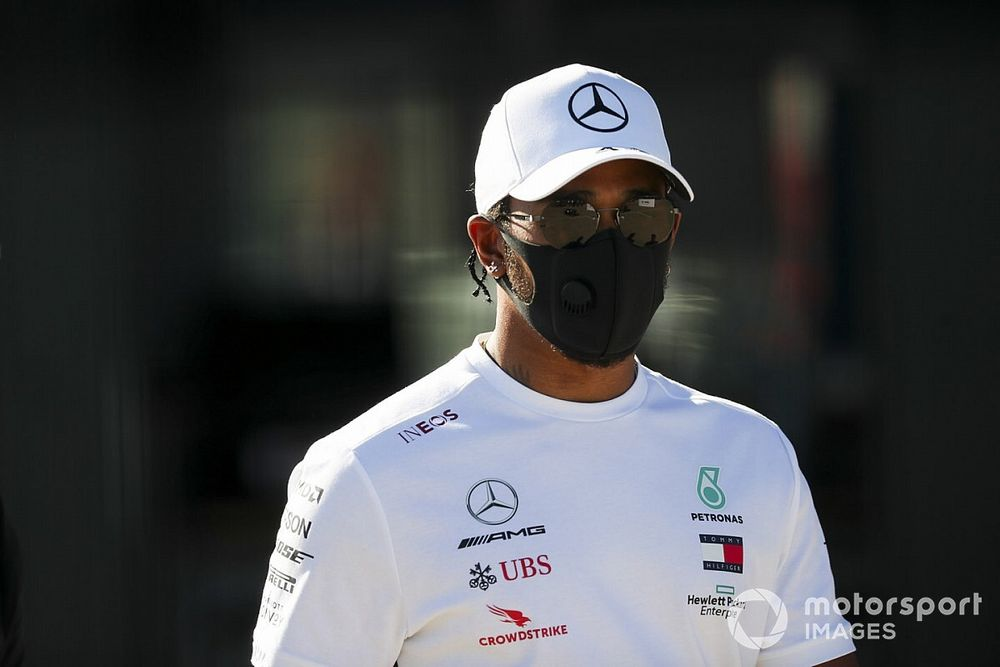 """Hamilton to stay in F1 for """"at least three years"""""""