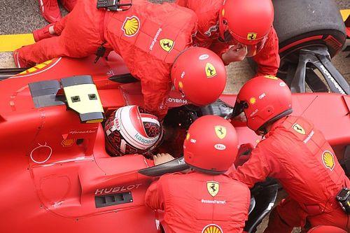 ¿Por qué Leclerc manejó con los cinturones de seguridad sueltos?