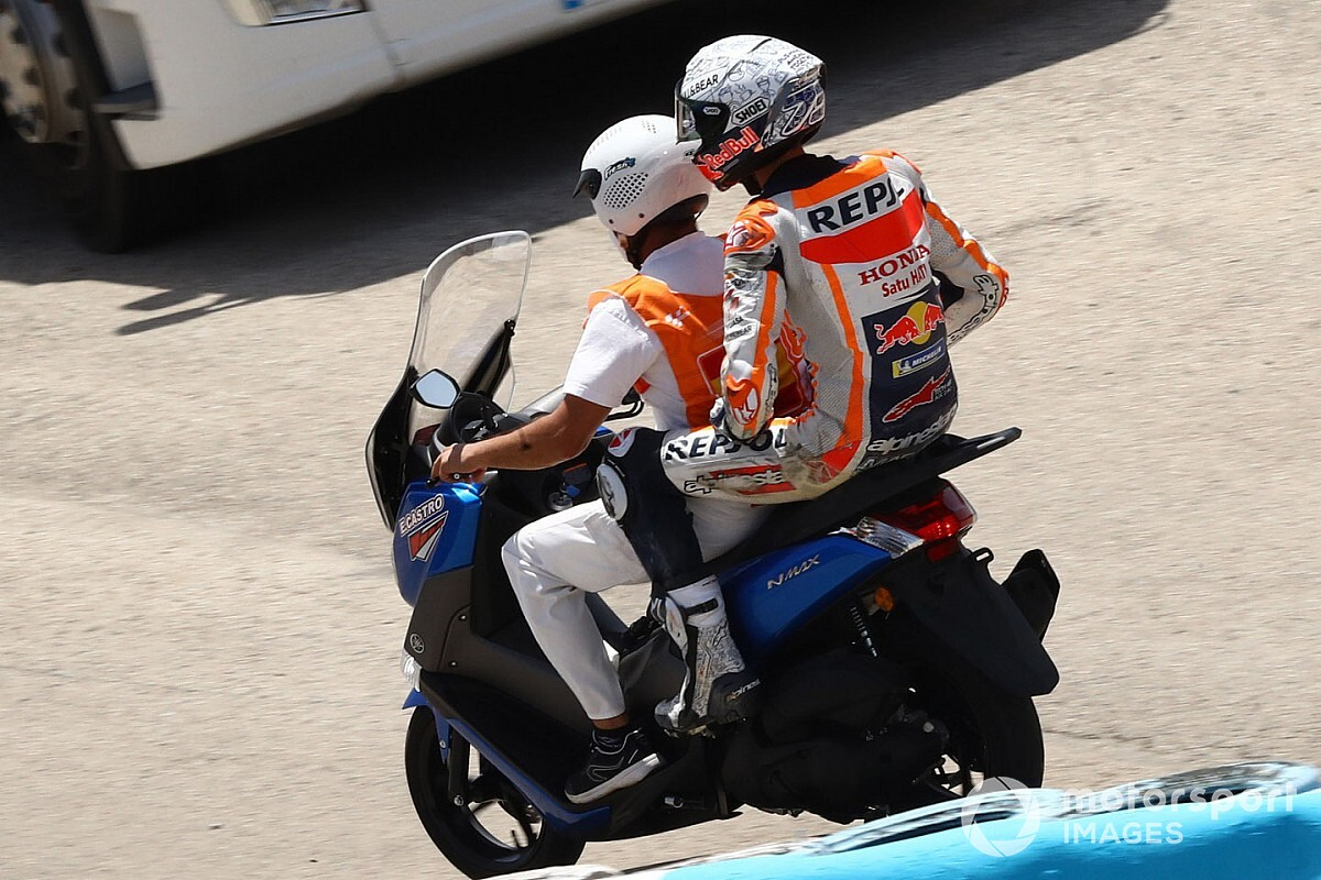 """Alex Marquez beats himself up over """"rookie mistake"""""""