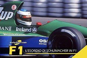 F1 Stories: il debutto di Michael Schumacher nel 1991