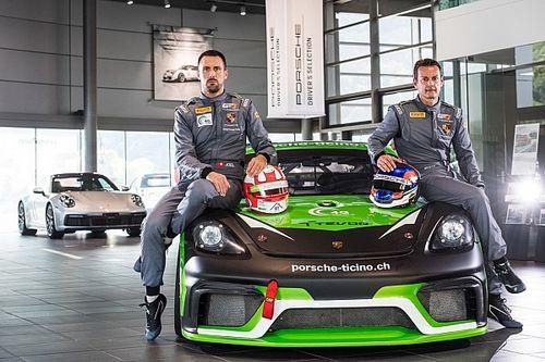 Team Centri Porsche Ticino in GT4 Serie Europea con Camathias e Jacoma
