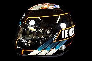 """Indy: Hildebrand pede """"direitos, justiça e oportunidade"""" nos Estados Unidos em capacete especial para as 500 Milhas"""