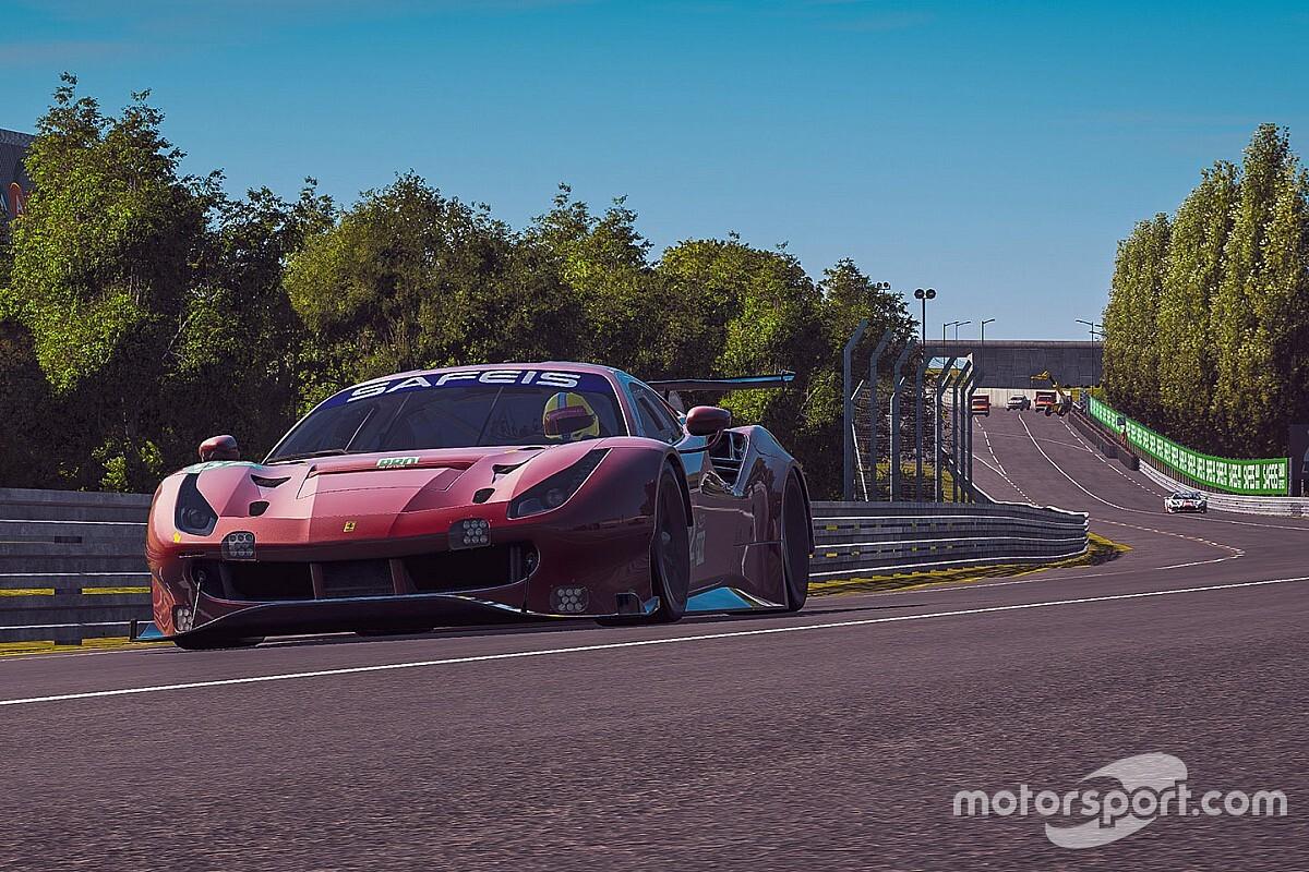 Virtual Le Mans, 4a Ora: breve turno dei simracer Ferrari