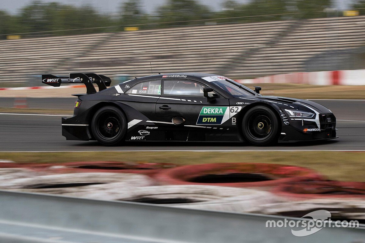 Habsburg leads Eng on Day 2 of Nurburgring DTM test