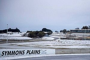 Australian circuit hit by rare snow storm