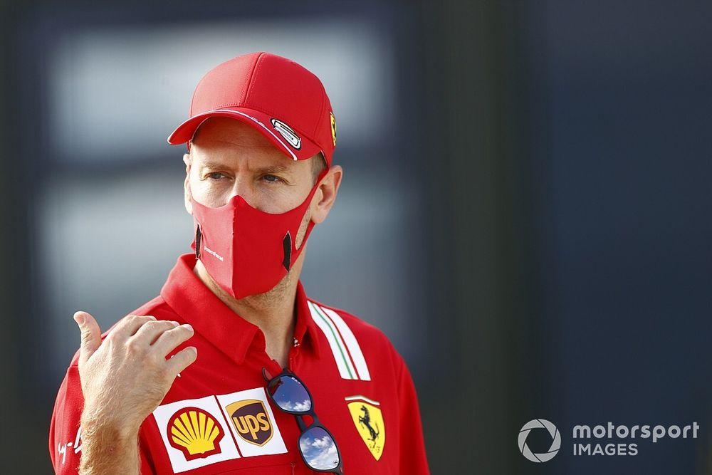 Vettel explica su paseo en coche con el jefe de Racing Point