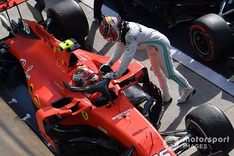 Leclerc: Aprendí de Verstappen para vencer a Hamilton