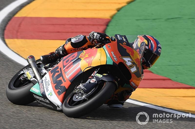 Moto2 Aragon: Tweede seizoenzege voor Binder, P18 Bendsneyder