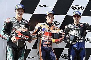 Márquez diz que Quartararo ainda não sofre a pressão verdadeira da MotoGP