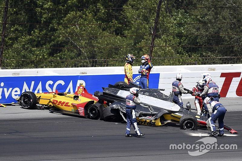 Massa volta a criticar segurança da Indy após acidente em Pocono