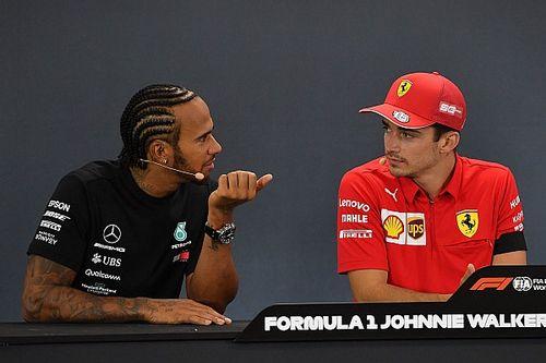 Hamilton a Leclerc: La próxima actuaré en consecuencia