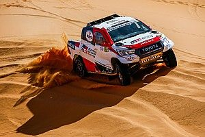 Alonso completes final Dakar test in Abu Dhabi