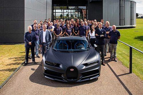Bugatti produce el Chiron número 200, disfruta de imágenes del proceso