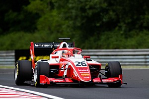 F3 Hungaroring: Armstrong domineert, Shwartzman valt uit