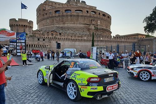 Abarth Rally Cup: Dariusz Poloński si impone a Roma, che beffa per Nucita