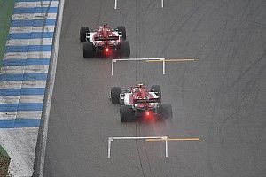 FIA proposes coloured rain light system