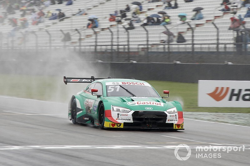 Nico Müller mago della pioggia, vince Gara 2 ad Hockenheim
