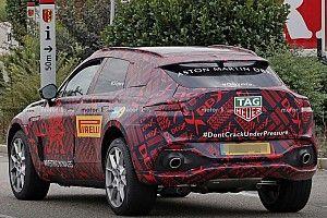 Új kémfotókon tekinthetőek meg az Aston Martin DBX hátsó lámpái