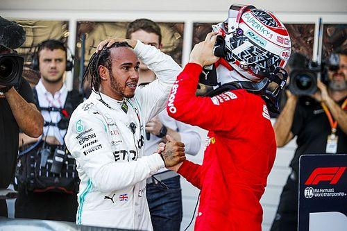 Hamilton: Ferrari se equivoca al colocar a Leclerc como N°1