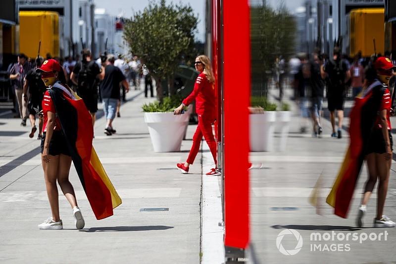 Vettel egyik legnagyobb rajongója a Hungaroringen: micsoda arcfestés?!