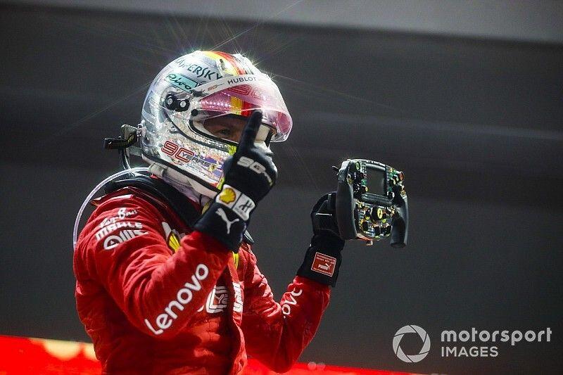 Sebastian Vettel venció en Singapur sobre Leclerc