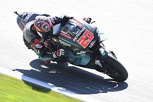 Quartararo lidera la 1° práctica y Lorenzo es último en Silverstone