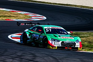 DTM Lausitzring: Müller profiteert van DNF Rast, Frijns tweede