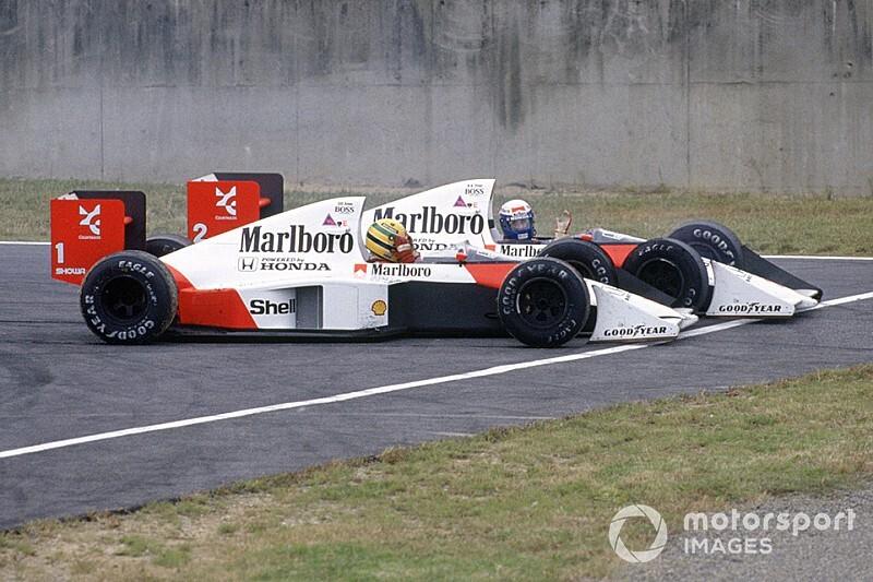 El accidente Senna/Prost que conmocionó al mundo