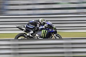 Thailand MotoGP: Vinales tops FP1, hard crash for Marquez