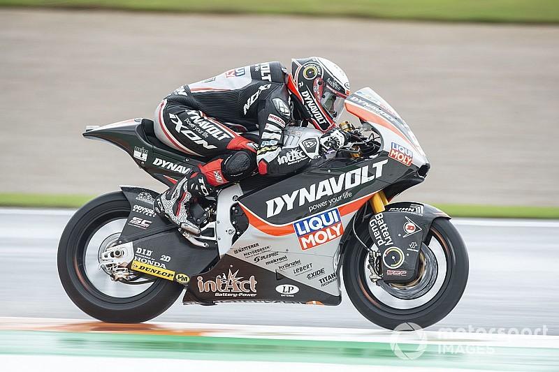 Moto2 Valencia: Vierge voor Lowes in derde training
