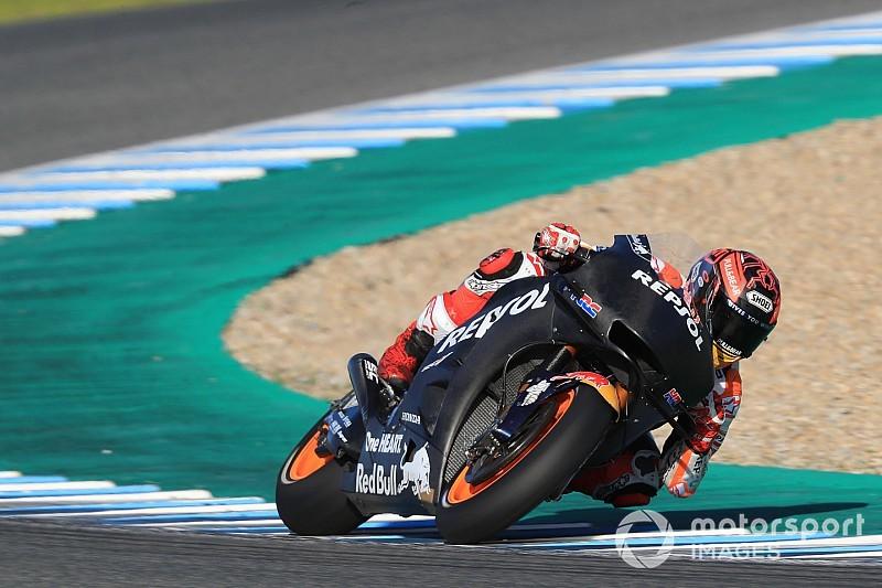 Jerez, mi-journée : Márquez en tête devant Rins et Viñales
