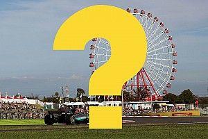 Всего год назад. Вспомните ли вы прошлый Гран При Японии?