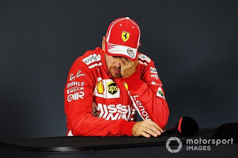 """Vettel è deluso: """"Il mondiale perso? A Singapore più che a Hockenheim"""""""