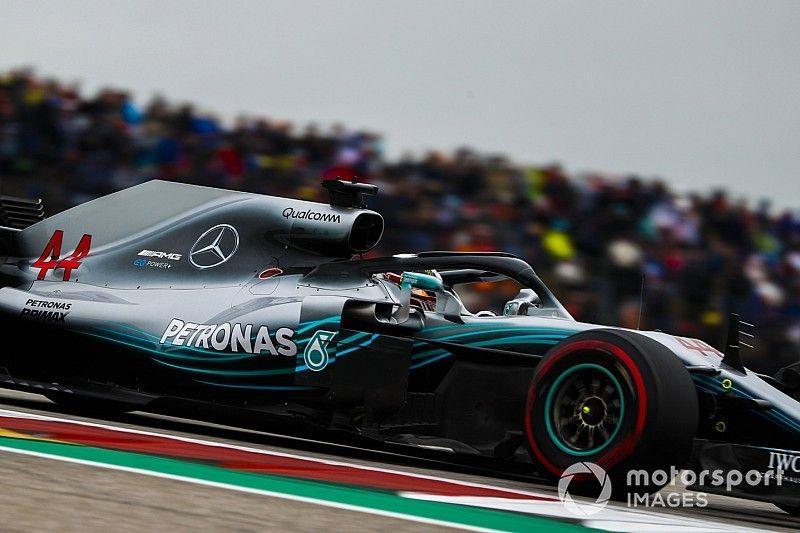 """Hamilton explica el """"gran"""" problema detrás de su debacle en el GP de Estados Unidos"""