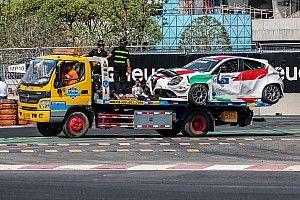 Giovanardi ai 200 km/h a muro a Wuhan, Alfa Romeo riparata a tempo di record