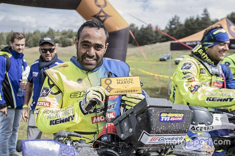 Morocco Rally: Sherco TVS' Tanveer scores podium in Enduro