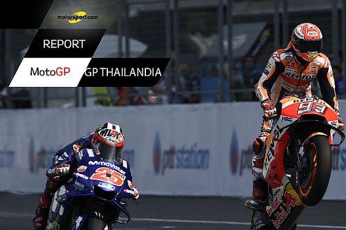 Motorsport Report: GP Thailandia, ma cosa s'è rotto sulla Ducati di Lorenzo?