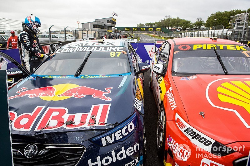 Team spoke to van Gisbergen over 'parking s**t fight'