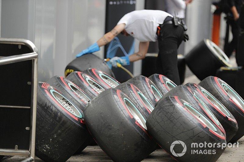 Los neumáticos 2019 de Pirelli tendrán una banda de rodamiento más delgada