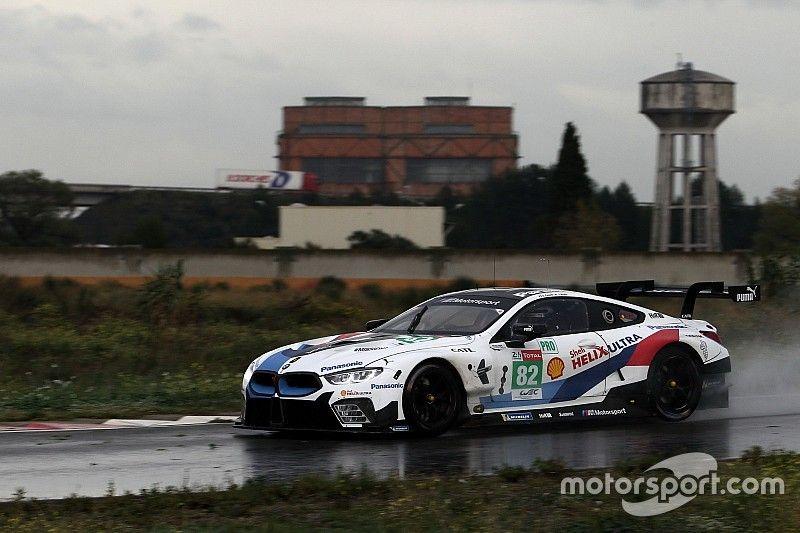 Zanardi completó su primer test en el BMW M8 de IMSA