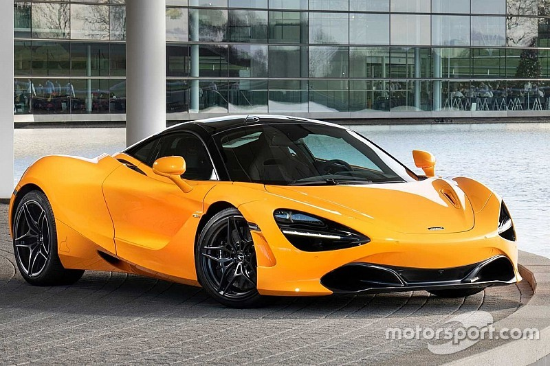 McLaren celebra la sua prima vittoria in Formula 1 con la 720S Spa 68 Collection