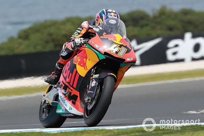 Moto2 in Australien: Brad Binder siegt im Fotofinish vor Joan Mir