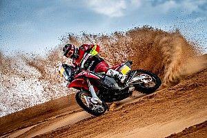 Dakar, Moto, Tappa 1: Barreda apre le danze a modo suo e porta in testa la Honda