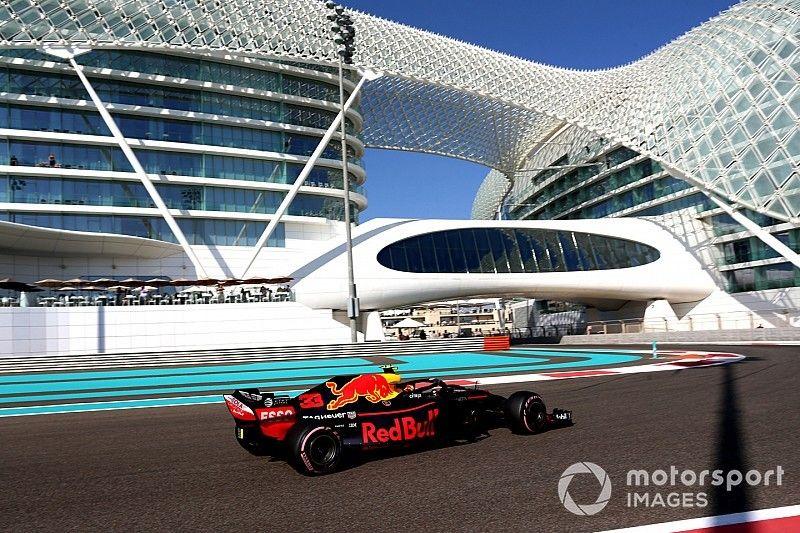Verstappen 'positief verrast' over prestaties Red Bull in Abu Dhabi